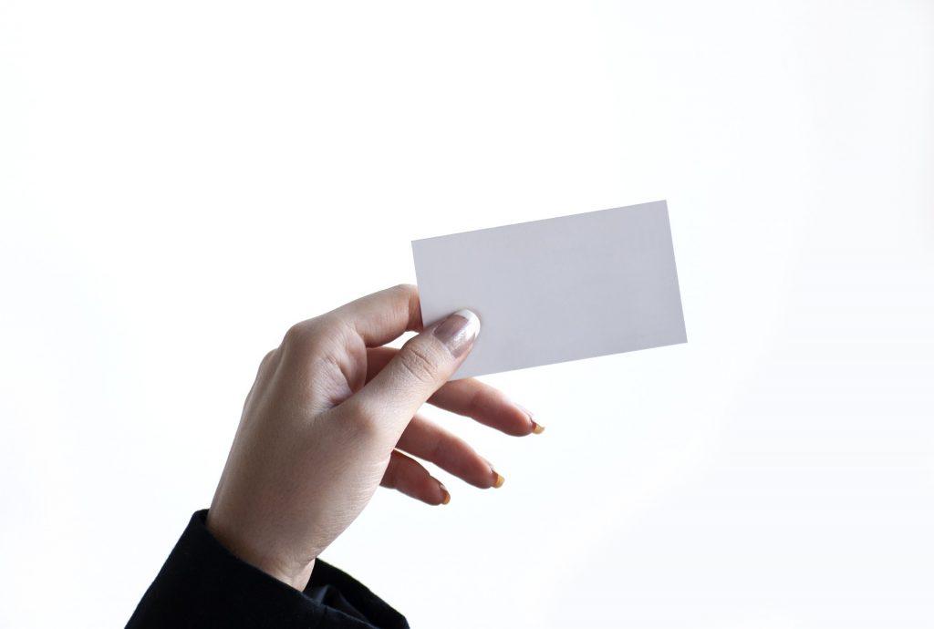 名刺 スタンプカード ポイントカード メンバーズカード